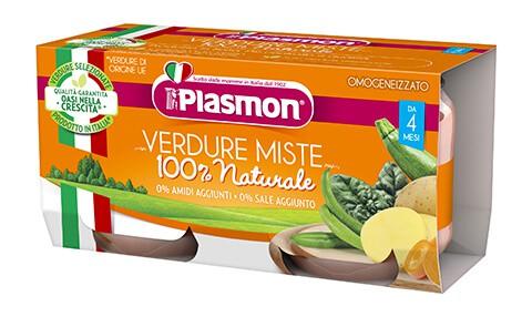 Omogeneizzato Di Verdure Plasmon
