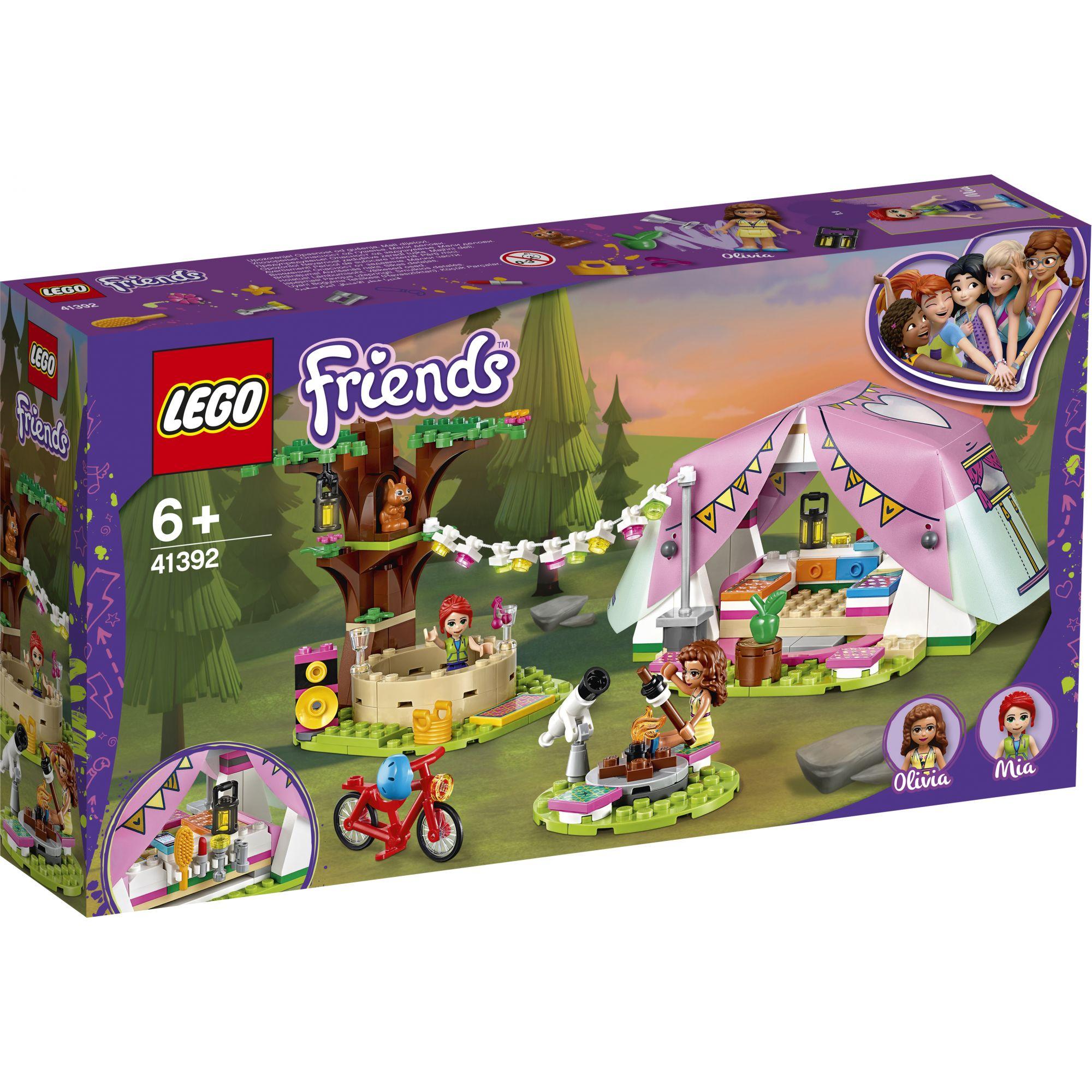 Lego Friends Glamping Nella Natura