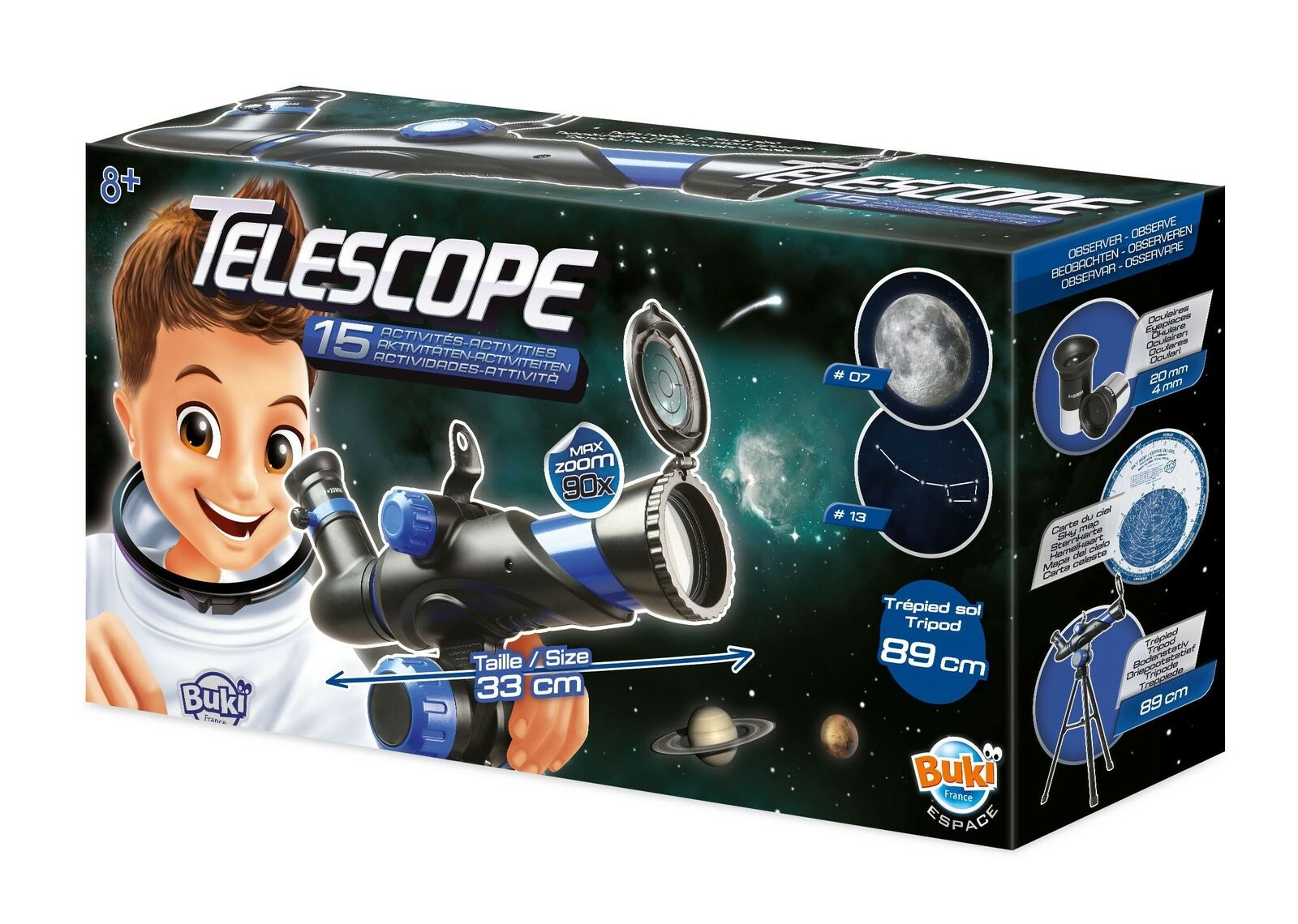 Telescopio 15 Attività