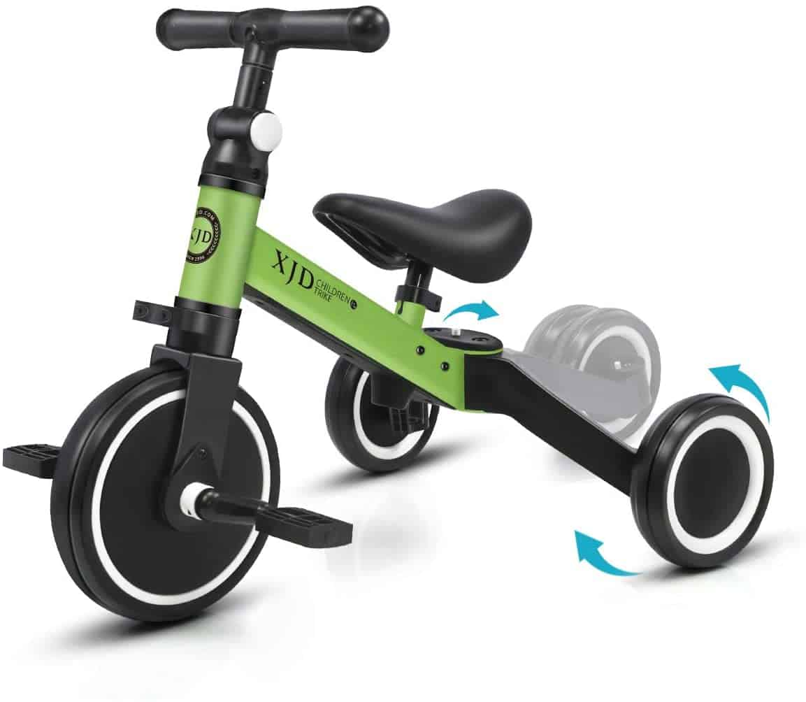 triciclo per bambini 3 in 1 xjd