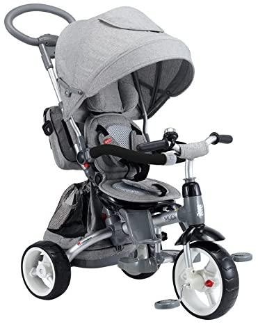 triciclo per bimbi 6 in 1 mondial toys