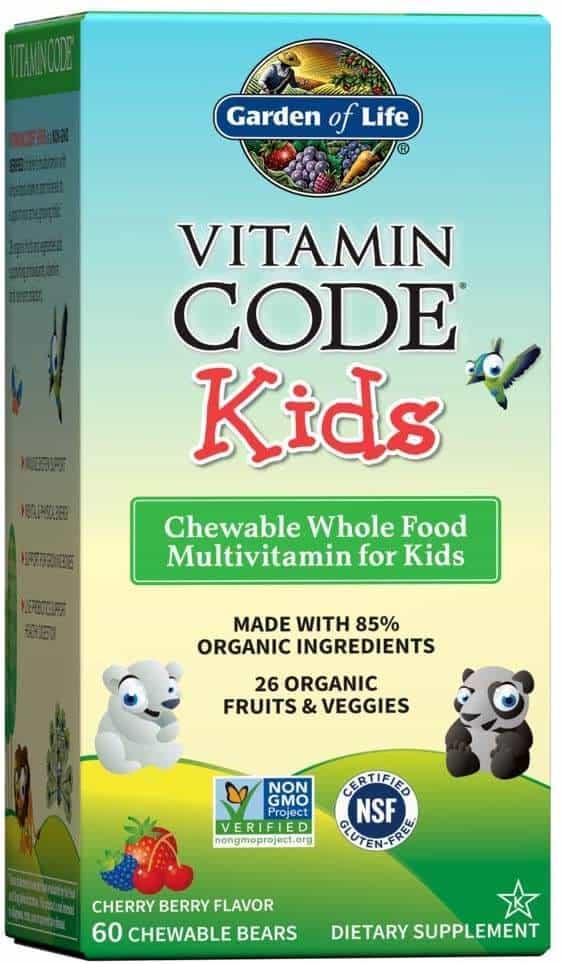 multivitaminico per bambini garden of life