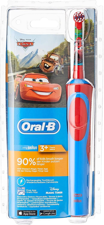 spazzolino elettrico per bambini oral-b 3+
