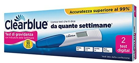 test di gravidanza clearblue digital rapid